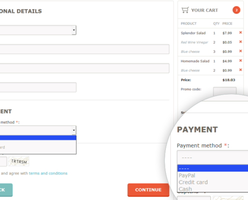 Pagamenti online integrato